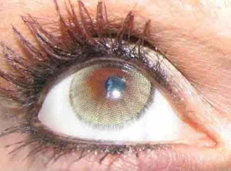 natural contact lens