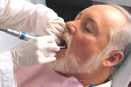 senior oral health problems
