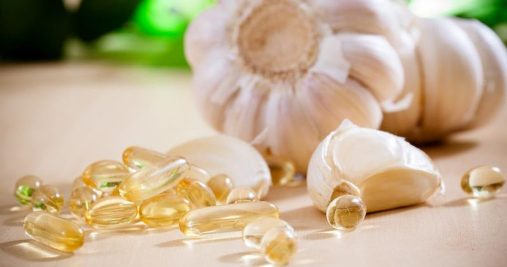garlic oil pearls